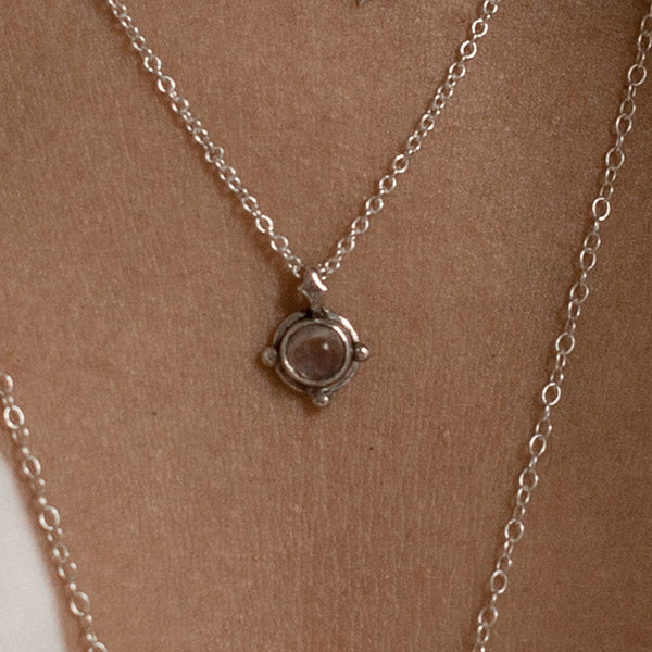 FAYE NECKLACE • MOONSTONE • MADE-TO-ORDER