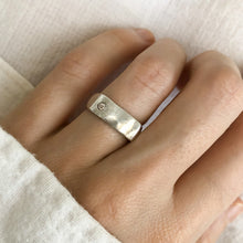 GROUND DIAMOND RING • MADE-TO-ORDER