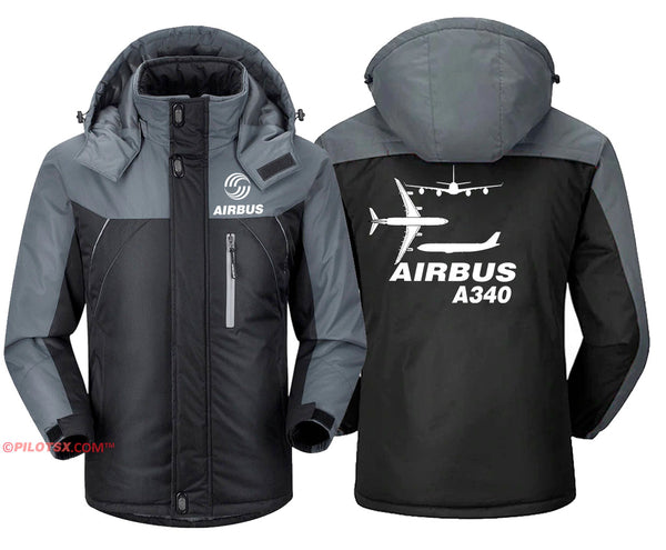 DYNAMIC VIEWS OF AIRBUS A340 JACKET