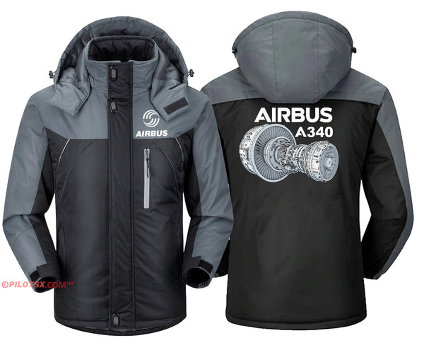 AIRBUS A340 ENGINE VIEWS JACKET