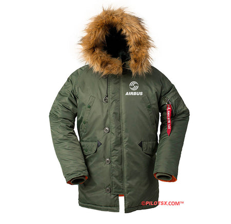 AIRBUS DESIGNED WINTER N3B PUFFER COAT