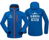 AIRPLANE LOVER Hoodie Jacket Blue / S A 320