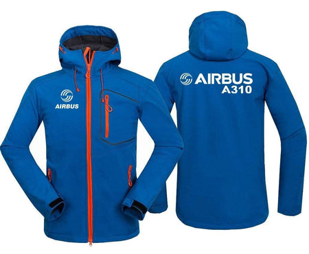 AIRPLANE LOVER Hoodie Jacket Blue / S AIRBUS A310
