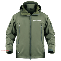 AIRBUS LOGO-MILITARY FLEECE
