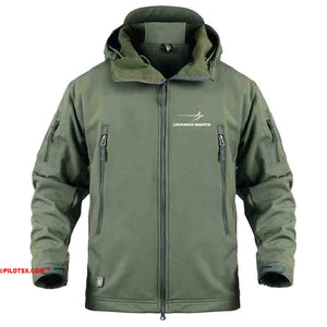 AIRPLANE LOVER Military Fleece Army Green / S Military Fleece Warm Tactical LOCKHEED MARTINE Jacket