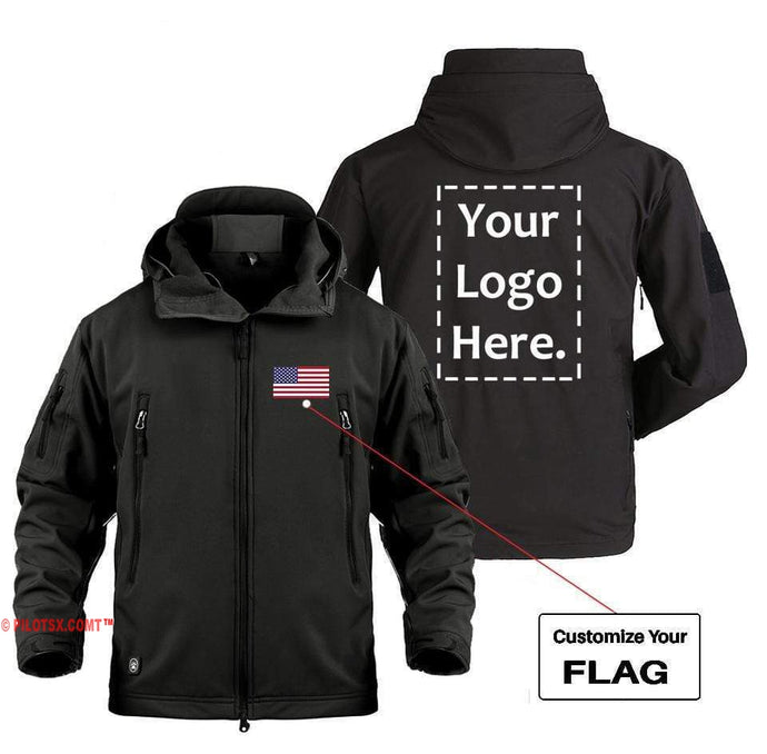 AIRPLANE LOVER Military Fleece Black / S CUSTOM FLAG & LOGO DESIGNED MILITARY FLEECE
