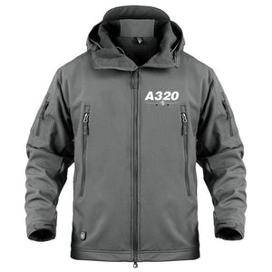 AIRPLANE LOVER Military Fleece Gray / S Airbus A320