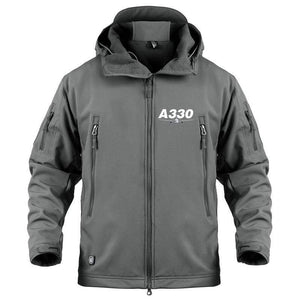 AIRPLANE LOVER Military Fleece Gray / S Airbus A330