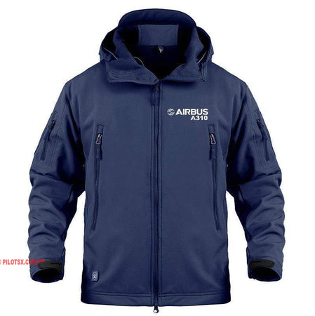 AIRPLANE LOVER Military Fleece Navy / S Airbus A310