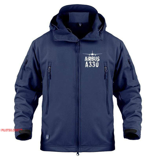 AIRPLANE LOVER Military Fleece Navy / S Airbus A330