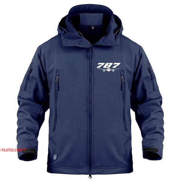 AIRPLANE LOVER Military Fleece Navy / S Boeing 787