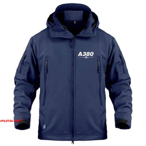 AIRPLANE LOVER Military Fleece Navy / S New Airbus- A380