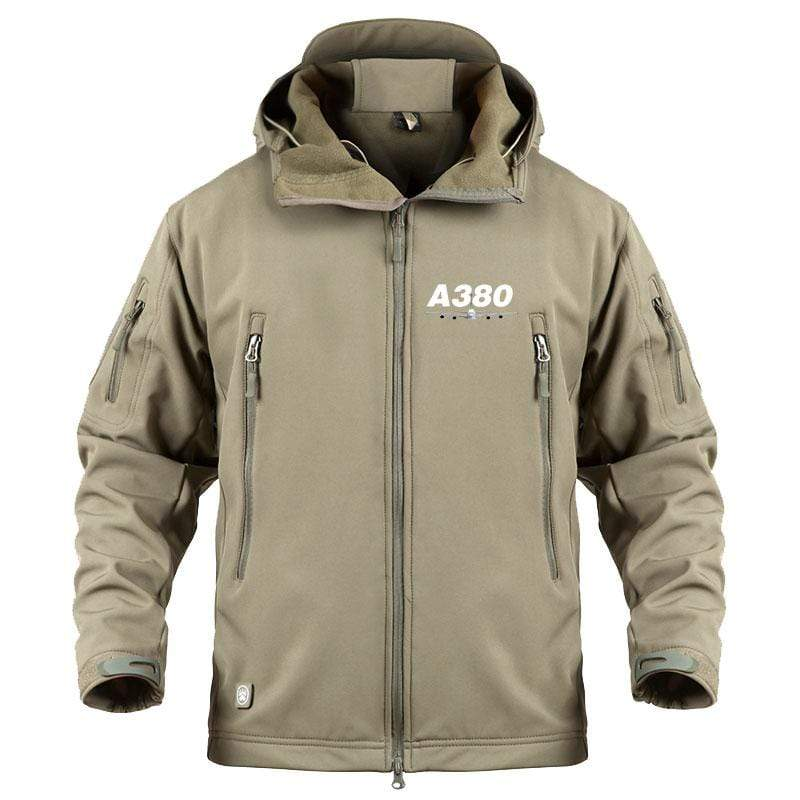 AIRPLANE LOVER Military Fleece New Airbus- A380