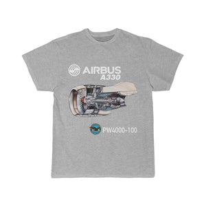 Airplane T-Shirt Athletic Heather / L AIRBUS A330 T-shirts