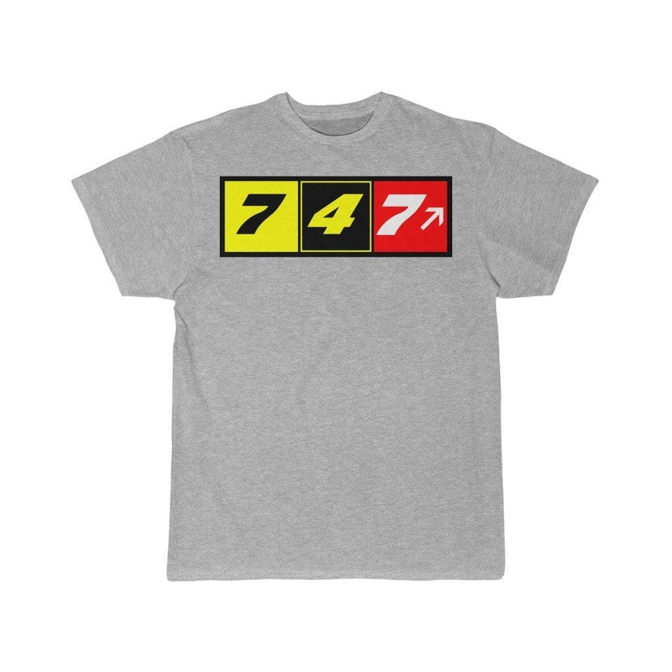 Airplane T-Shirt Athletic Heather / S 747