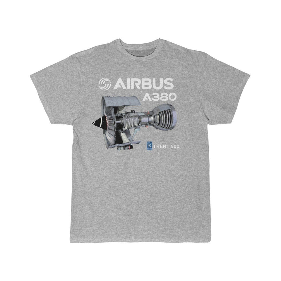 Airplane T-Shirt Athletic Heather / S Airbus A 380 T-shirts