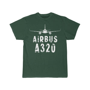 Airplane T-Shirt Forest / S Airbus A 320 T-shirts