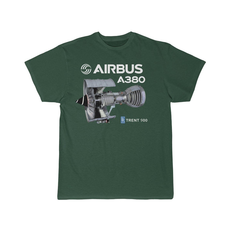 Airplane T-Shirt Forest / S Airbus A 380 T-shirts
