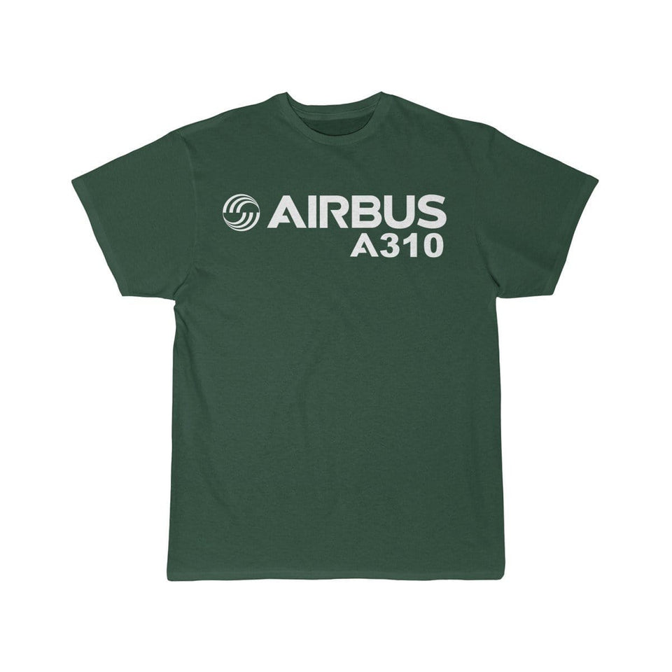 Airplane T-Shirt Forest / S Airbus A310 T-shirts