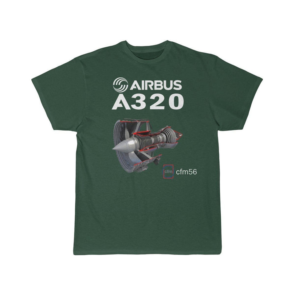Airplane T-Shirt Forest / S AIRBUS A320 T-shirts