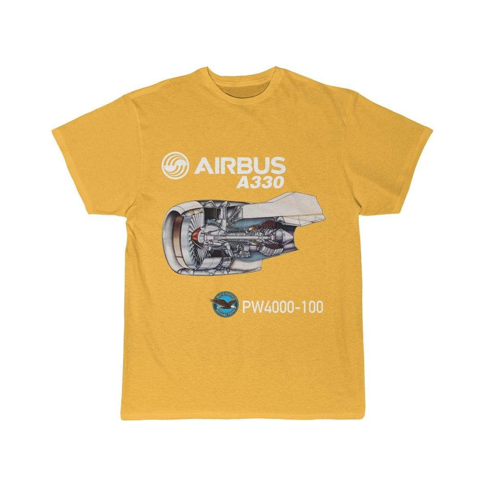 Airplane T-Shirt Gold / S AIRBUS A330 T-shirts