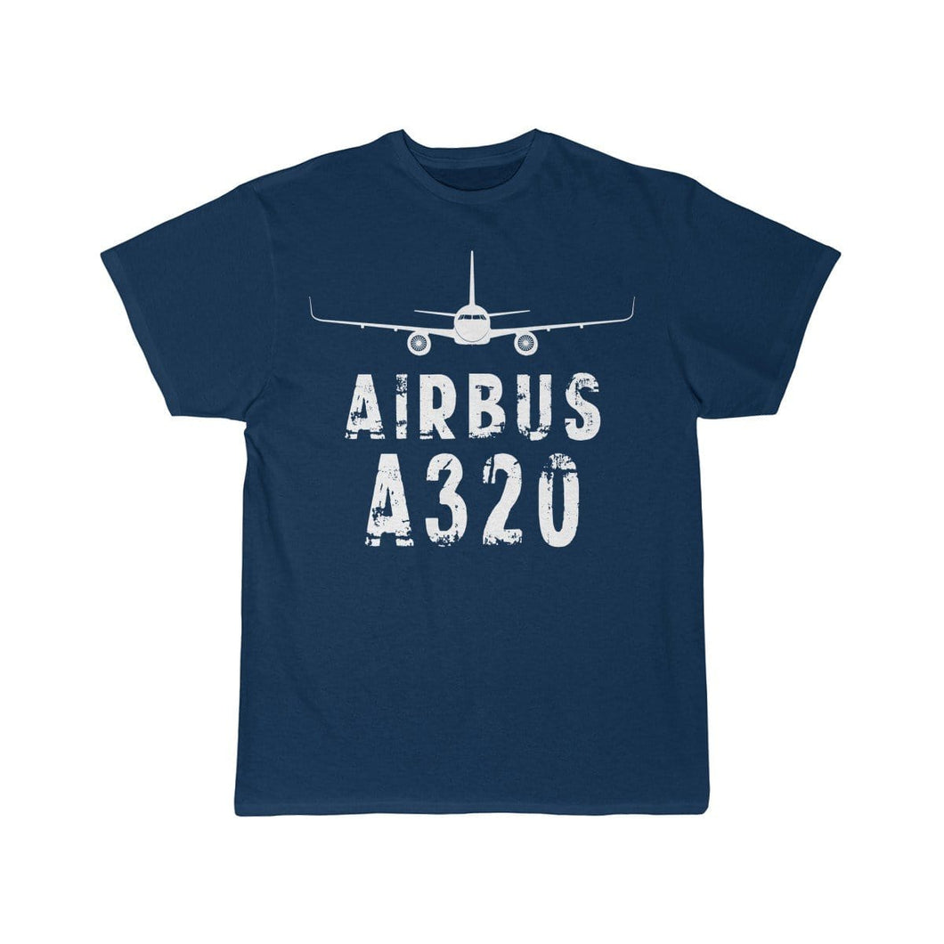 Airplane T-Shirt Navy / L Airbus A320 T-shirts