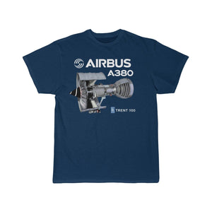 Airplane T-Shirt Navy / S Airbus A 380 T-shirts