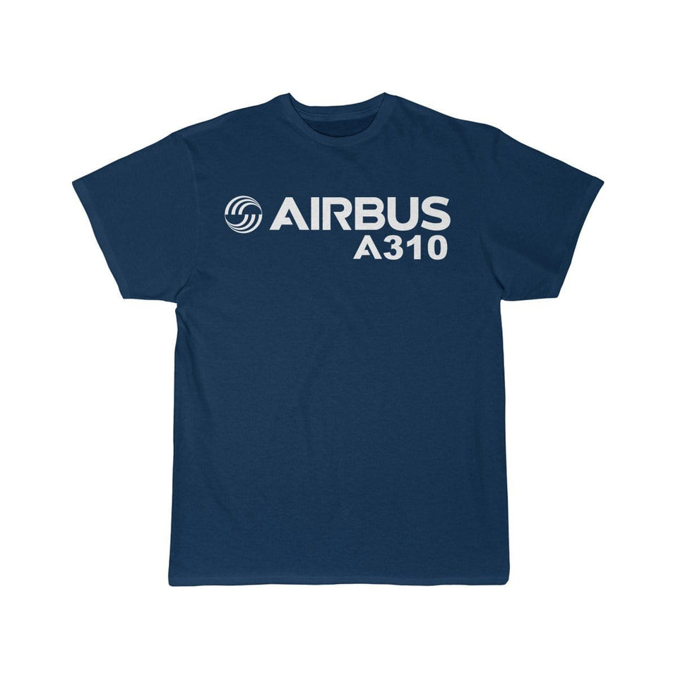 Airplane T-Shirt Navy / S Airbus A310 T-shirts