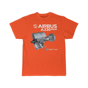 Airplane T-Shirt Orange / S AIRBUS A330 T-shirts