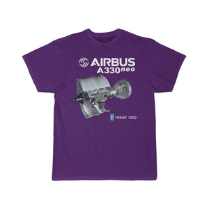 Airplane T-Shirt Purple / S AIRBUS A330 T-shirts