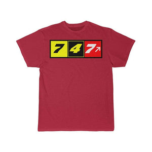 Airplane T-Shirt Red / L 747