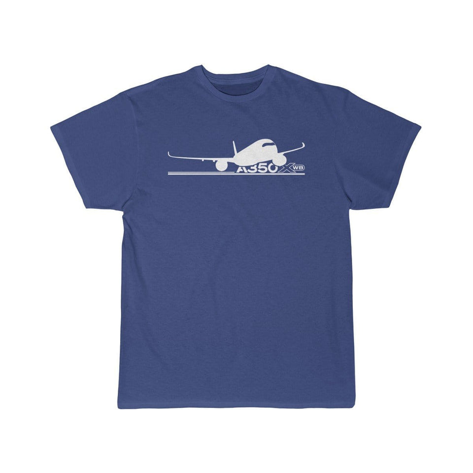 Airplane T-Shirt Royal / S Airbus A350 T-shirts
