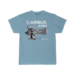 Airplane T-Shirt Sky Blue / S Airbus A 380 T-shirts