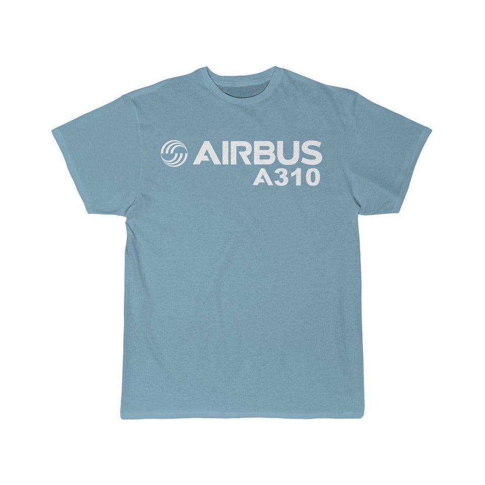 Airplane T-Shirt Sky Blue / S Airbus A310 T-shirts