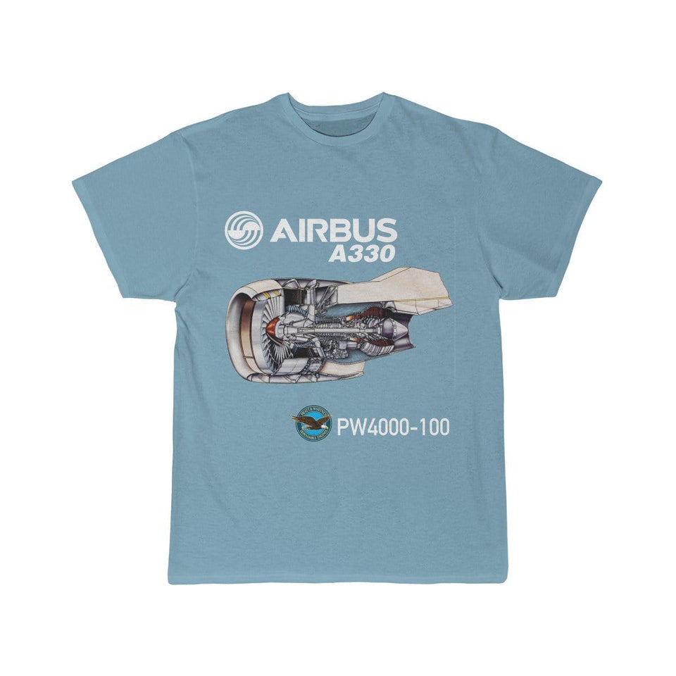 Airplane T-Shirt Sky Blue / S AIRBUS A330 T-shirts