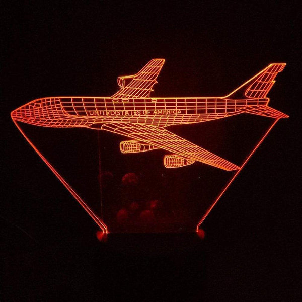 GearNets 3D Led Nightlight Gradient 7 Color The 747
