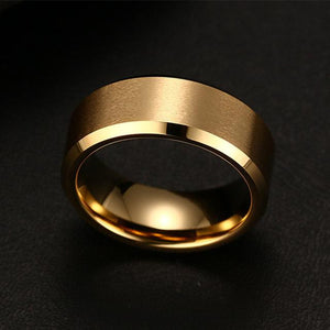 GearNets 6 / Gold Titanium Ring