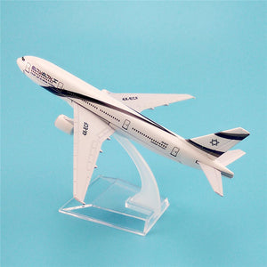 GearNets Air El Al Israel Airlines Plane Model The B777