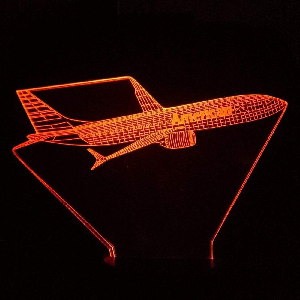 GearNets American Airlines 3D Lamp