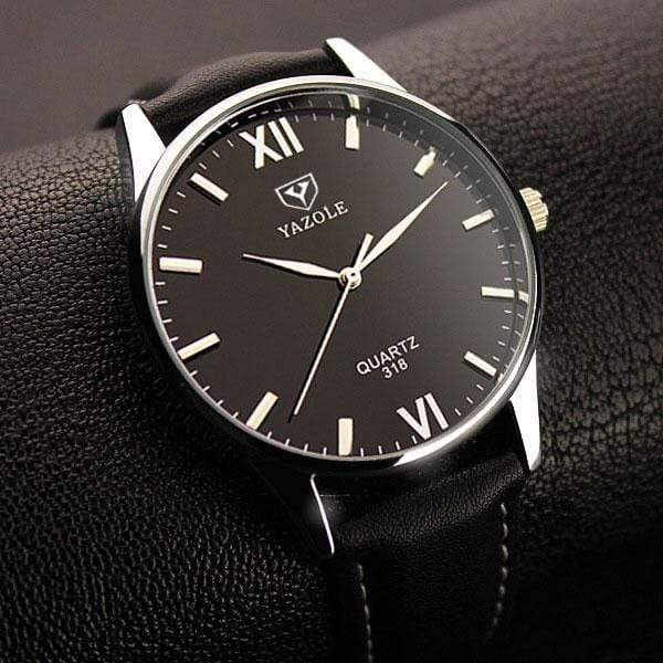 GearNets black black Hodinky Quartz-watch
