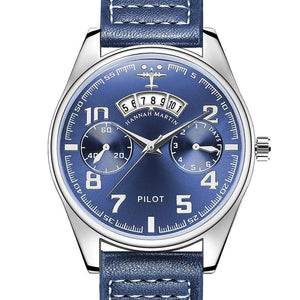 GearNets Blue Luxury Aviator & Pilot Watches