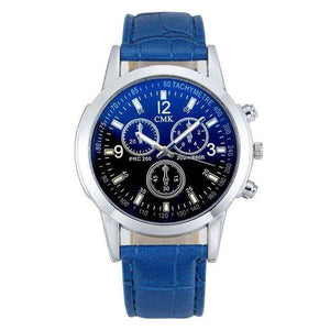 GearNets Blue strap black Casual Luxury Leather strap