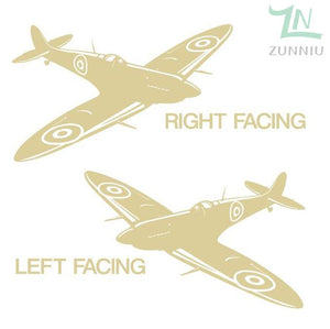 GearNets Brimstone Yellow / 88x57cm WALL ART STICKER BRITISH FIGHTER WW2 AIRCRAFT