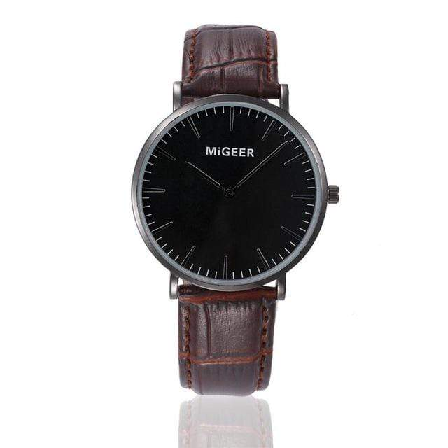 GearNets Brown Business Wrist Watches