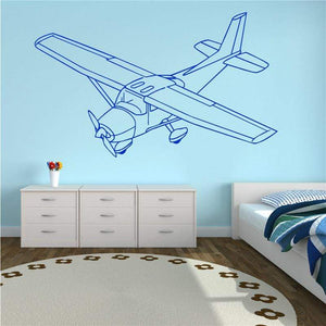 GearNets CESSNA room wall stickers