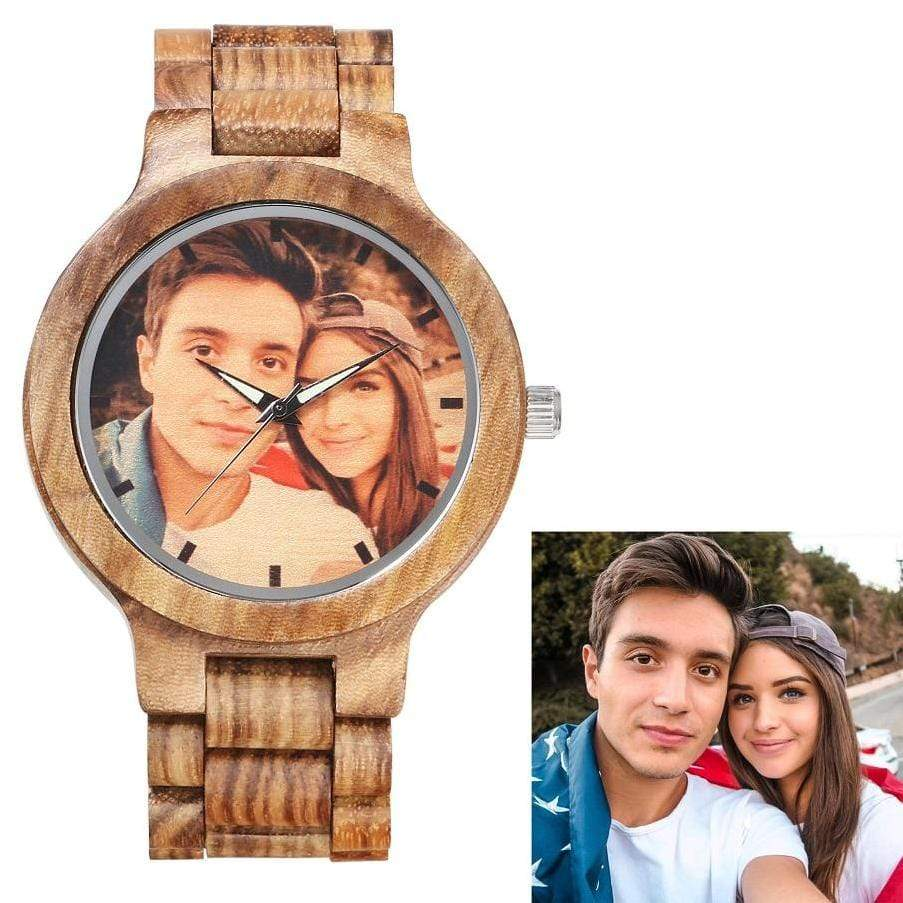 GearNets Custom Watch Vintage Zebra Full Wooden Mens Watches
