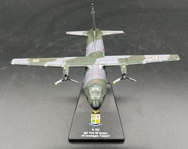 GearNets Italian Air Force G.222 tactical transport aircraft