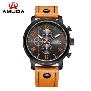 GearNets light brown / China Male Casual Analog Sports Wrist Watches