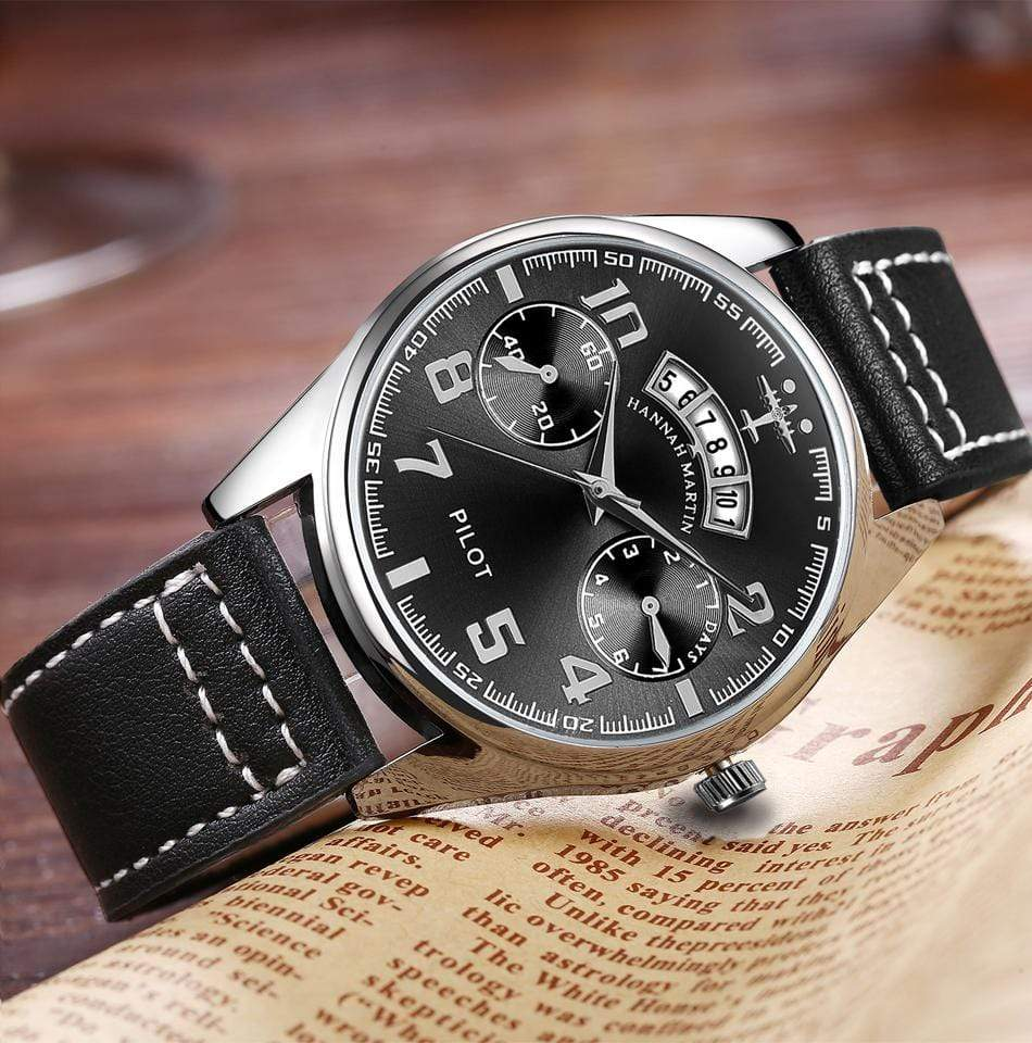 GearNets Luxury Aviator & Pilot Watches