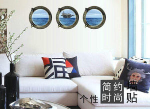 GearNets Marine Aircraft Carrier Decals 3D Wall Stickers